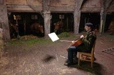 Abendliches Musikprogramm für die Kühe